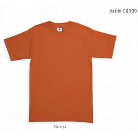 Playera Cuello Redondo Color + Impresión 3 Tintas Serigrafía 487d9beb9c0a3
