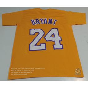 L A Lakers Playera Md K Bryant Amarillo Envio Gts Nba1 Ace70