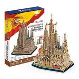 Rompecabezas 3d. Sagrada Familia. Cubic Fun