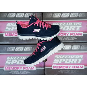 Memory Mujer Zapatillas Tenis Skechers Foam With OqPOXptnw