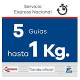 5 Guías Redpack Prepagadas, Express 1 Kg $229.06 X Guía