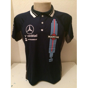 25633c4e9e Promoção  Camisa Camiseta Polo Mercedes Martini F1 Corrida