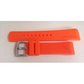 64c70a697bb Relogio Nautica Laranja - Relógios no Mercado Livre Brasil