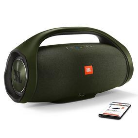 Caixa De Som Jbl Boombox Original Preta Verde Camuflada Nota