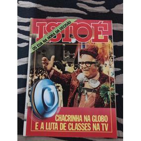 Revista Istoé Chacrinha Beija Flor Copa Da Espanha 82