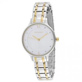 Relogio Skagen Denmark - Relógios De Pulso no Mercado Livre Brasil 09ccd3a4b7