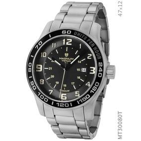 Relógio Magnum Masculino Prata Mt30080t
