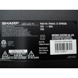 Tv Sharp 55 Daño En Display