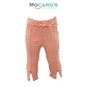 Bonitos Leggins Tipo Capri Para Niña Color Rosa 03462