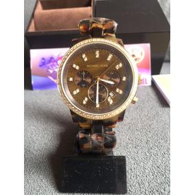 29a7627235fdb Relógio Michael Kors Tartaruga Mk 5298 Original E Novo - Relógios De ...