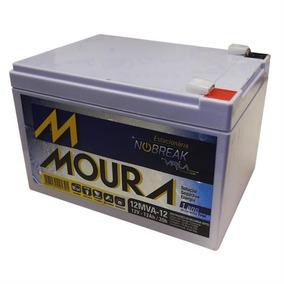 Bateria Moura 12v 12ah Vrla P/ Bicicletas, Scooter Elétrica