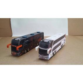 02 Ônibus Turismo / Viagem - Cod. 13 - Perez Ferromodelismo