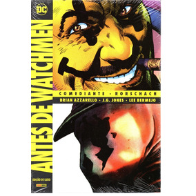 Antes De Watchmen Edicao De Luxo - Bonellihq Cx474 D19