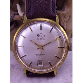 Reloj Haste De Luxe Automatico Original Muy Exacto