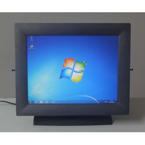 Painel Advantech Tpc-1571h Atom 4gb Ssd-32gb - Serial Db9
