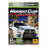 Videojuego Midnight Club: La Xbox 360 Ibushak Gaming