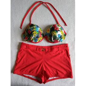 Biquini Estilo Shortinho - Biquinis Femininas no Mercado Livre Brasil 6d11eea5bb9a0