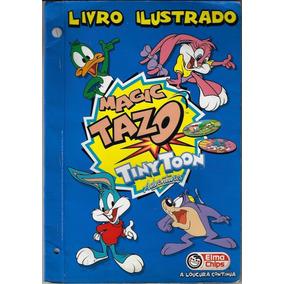 1997 Álbum Elma Chips Magic Tazo Tiny Toon Vazio