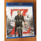 Blu Ray Guerra Mundial Z (bluray+dvd+copia Digital)