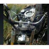Parabrisas Cubreviento Transparente Para Moto