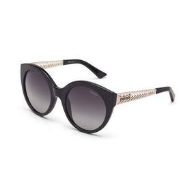 Oculos Sol Colcci C0018 Preto Brilho E Dourado Fosco L Cinza cc5a7ce685