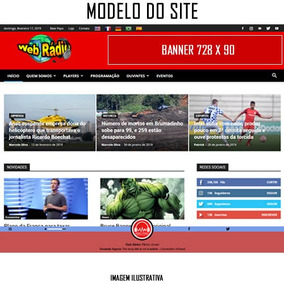 Rádio Completa - Site + Streaming + Hospedagem + App Android