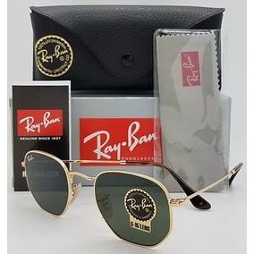 da0ef2b1d7d1d Ray Ban Round Metal Hexagonal - Óculos De Sol no Mercado Livre Brasil