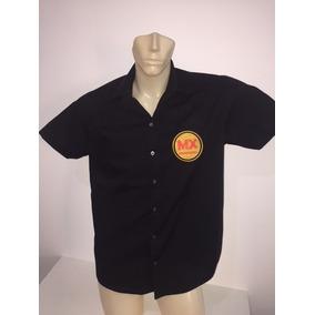 Camisa Masculina Com Bordado Personalizado