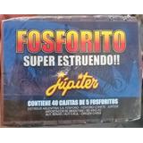 40 Cajitas X 5 De Fosforito Fuegos Artificiales Jupiter!!