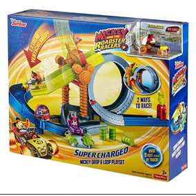 Mickey And Roadster Racers Pista De Acrobacias Fisher Price