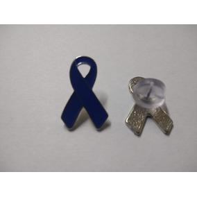 Pin/ Broche Laço Novembro Azul Cancer De Prostata