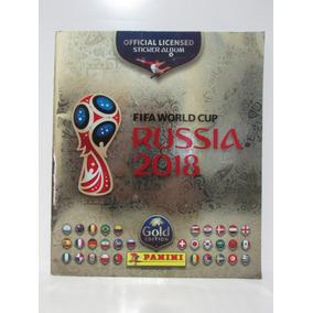 Álbum Da Copa Russia 2018 Gold Edition - Edição Suíça