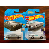 Dos Carros Hot Wheels 1/64 Dmc Delorean & Volver Al Futuro