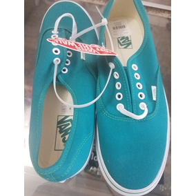 Vans Tenis Color Menta
