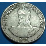 Colombia Moneda 1 Peso 1974