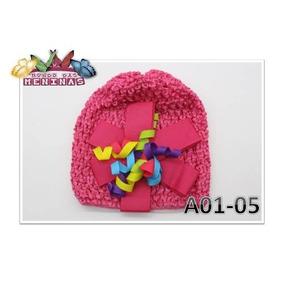 Gorros E Toucas Croche Para Foto Bebe - Acessórios da Moda no ... 7c8508d8135