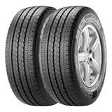 Combo X2 Neumaticos Pirelli 195/75r16 Chrono 107r
