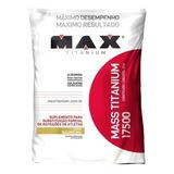 Massa Max Titanium 17500 Refil - 3kg - Max Titanium Promoção