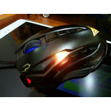 Mouse Gamer Gamdias Zeus Usb Led 8200 Dpi Macros Pesas