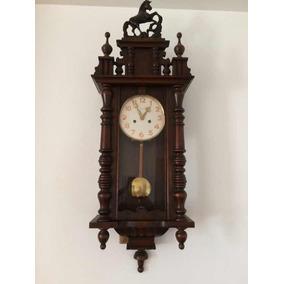 70fe6504d52 Antigo Relogio De Parede Cavalinho - Relógios De Parede Antigos no ...