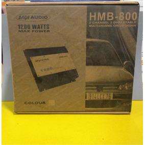 Planta Para Sonido De Carros Saga Audio Hmb-800