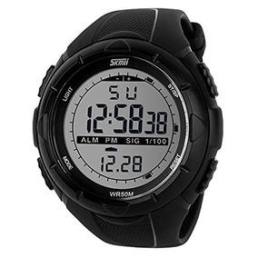 627205c0d50 Relógio Esportivo Digital Militar Skmei Luz Led Prova Dágua ...