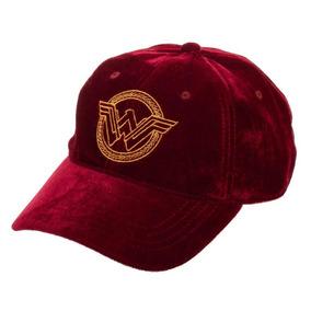 Velvet Hat Wonder Woman Logo Terciopelo Gorra