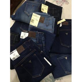Jeans Mezclilla A La Cintura Skinny, Super Bonitos!