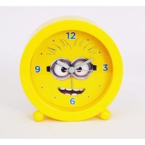 1681d712944 Relogio Despertador Minion - Relógios no Mercado Livre Brasil