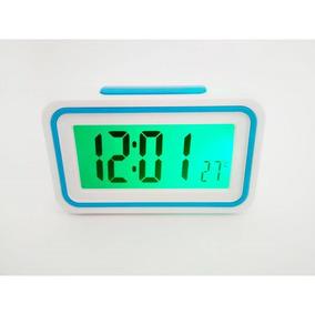 Relógio Despertador De Mesa Fala Hora Def. Visual E Idoso