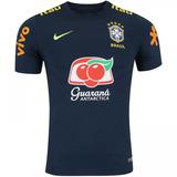 c0cc979b7f Camisa Nike Infantil Seleção Brasileira Treino Sq 14 Verde - Camisa ...