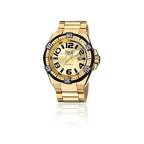 d37afeafb29 Relógio Masculino Everlast Analógico Cx E Pulseira Aço