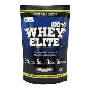 Proteína Whey Elite 2lb Vitanas