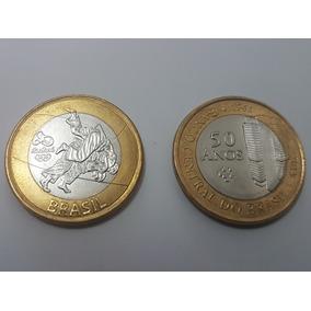Moeda Olímpica Judô E 50 Anos Banco Central